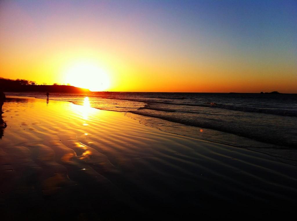 Sunset at Playa Tamarindo