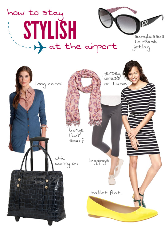 How to Stay Stylish at the Airport