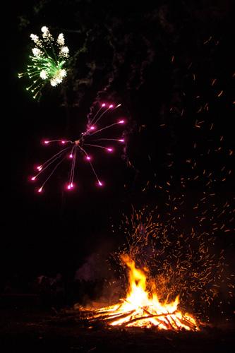 Bonfire Night In Newfoundland