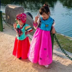 Chuseok Girls | SuitcaseandHeels.com