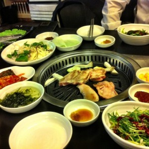 Korean food - banchan