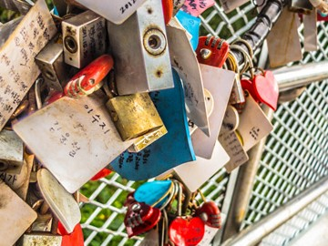 Love Locks | SuitcaseandHeels.com