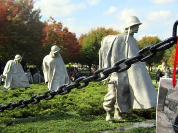 Korean War Veterans Memorial   SuitcaseandHeels.com