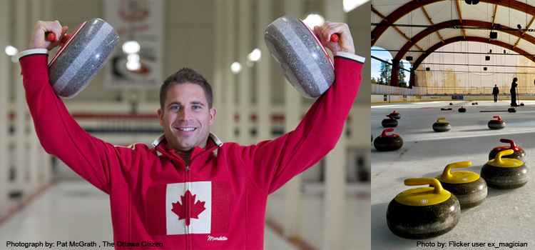 And by curling I might mostly mean John Morris.