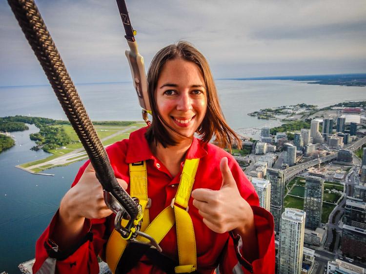 CN Tower EdgeWalk | SuitcaseandHeels.com