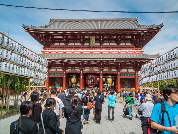 Senso-ji Temple | SuitcaseandHeels.com