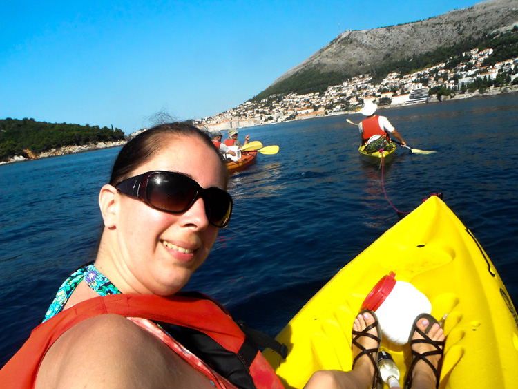 Kayaking in Dubrovnik | SuitcaseandHeels.com