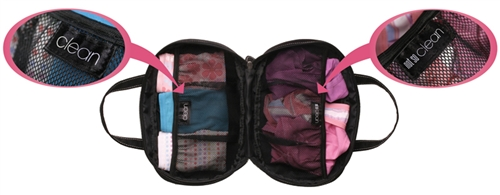 Bra Case Means No More Crushed Bras When Packing For Travel