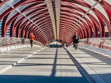 Calgary Peace Bridge | SuitcaseandHeels.com
