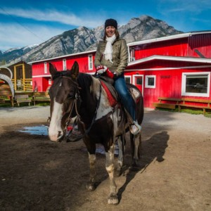 Banff Horseback Riding | SuitcaseandHeels.com