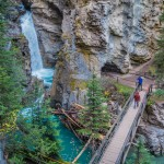 Postcards from Johnston Canyon