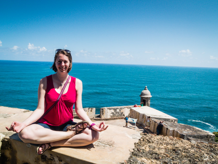 Yoga at El Morro | SuitcaseandHeels.com