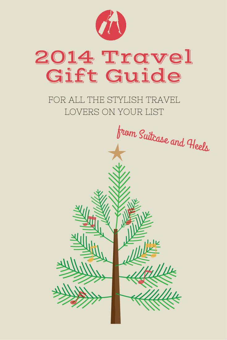 2014 Travel Gift Guide | SuitcaseandHeels.com