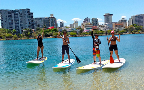 Stand Up Paddle Board with Velauno