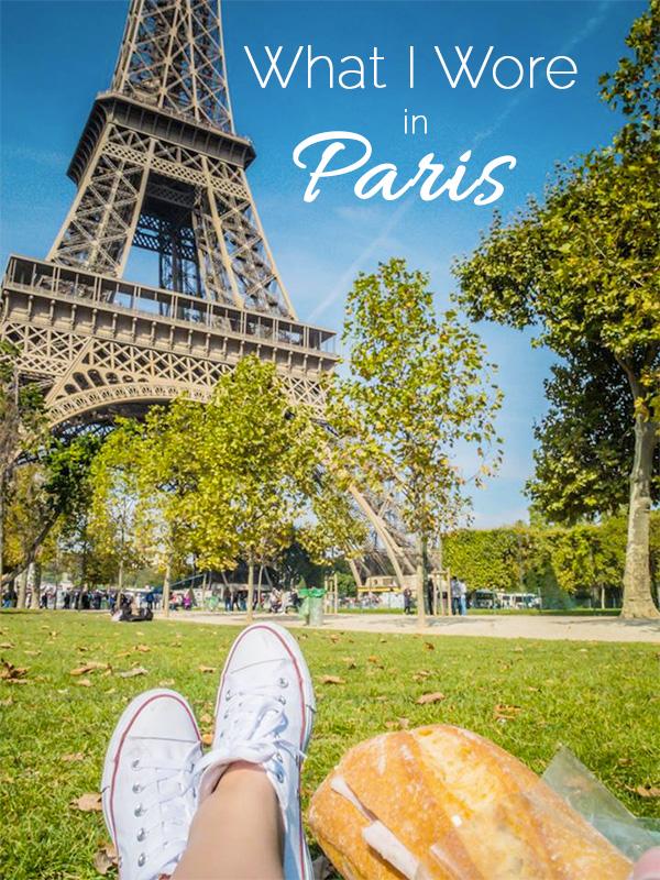 What I Wore in Paris | SuitcaseandHeels.com