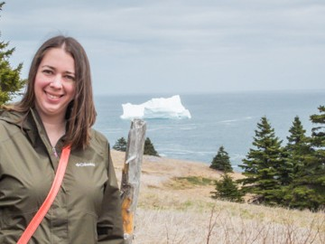Icebergs in Newfoundland | SuitcaseandHeels.com