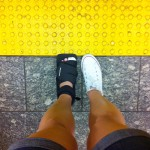 Injured foot in NYC | SuitcaseandHeels.com