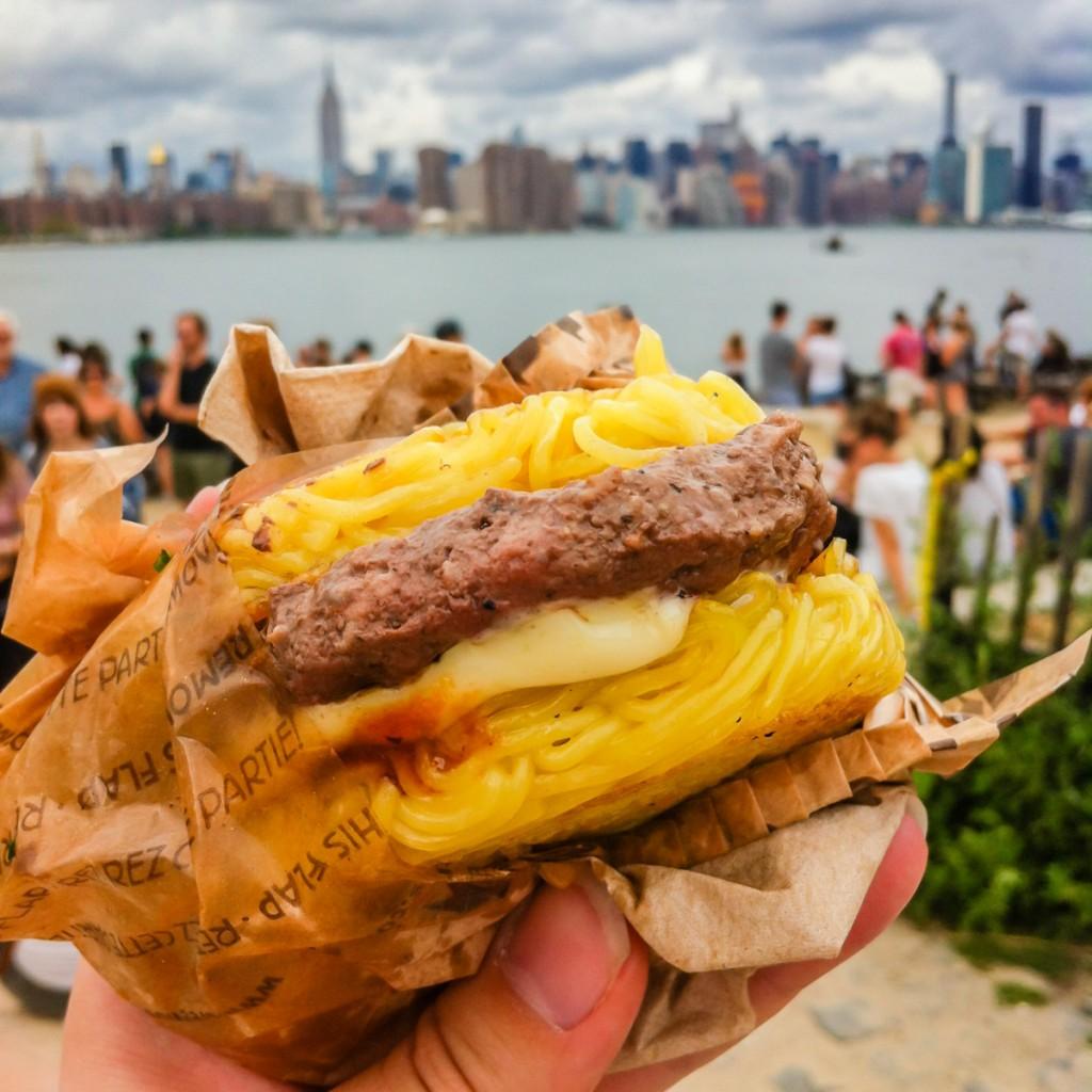 Ramen Burger | SuitcaseandHeels.com
