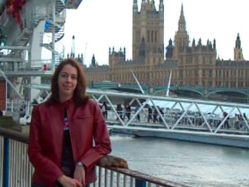 Mel in London