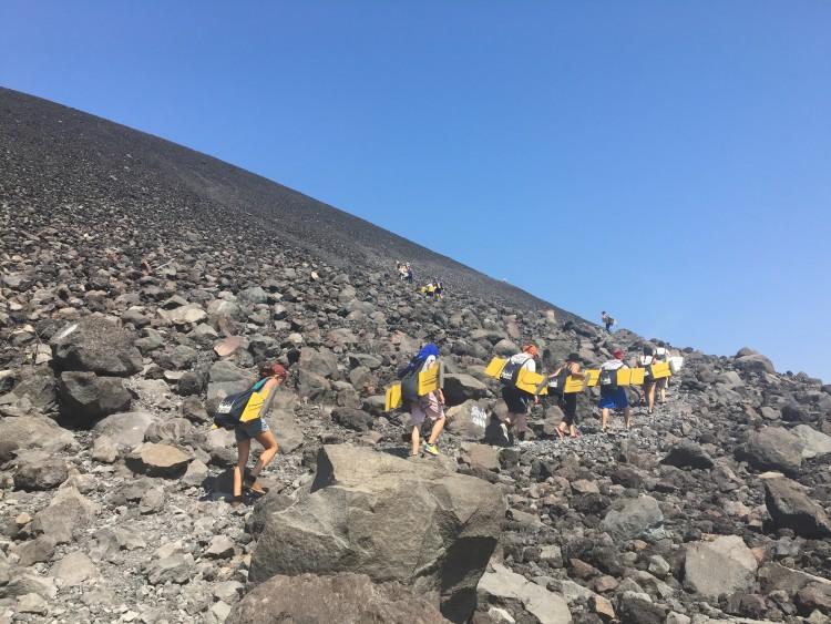Volcano Boarding in Nicaragua | SuitacaseandHeels.com