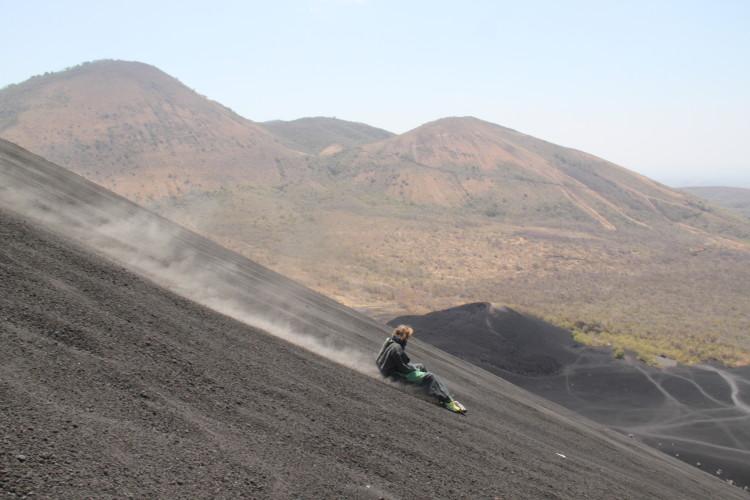 Volcano Boarding in Nicaragua | Suitcaseandheels.com