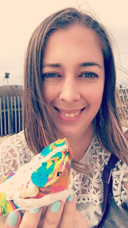 Rainbow Bagels in Brooklyn | Szuitcaseandheels.com