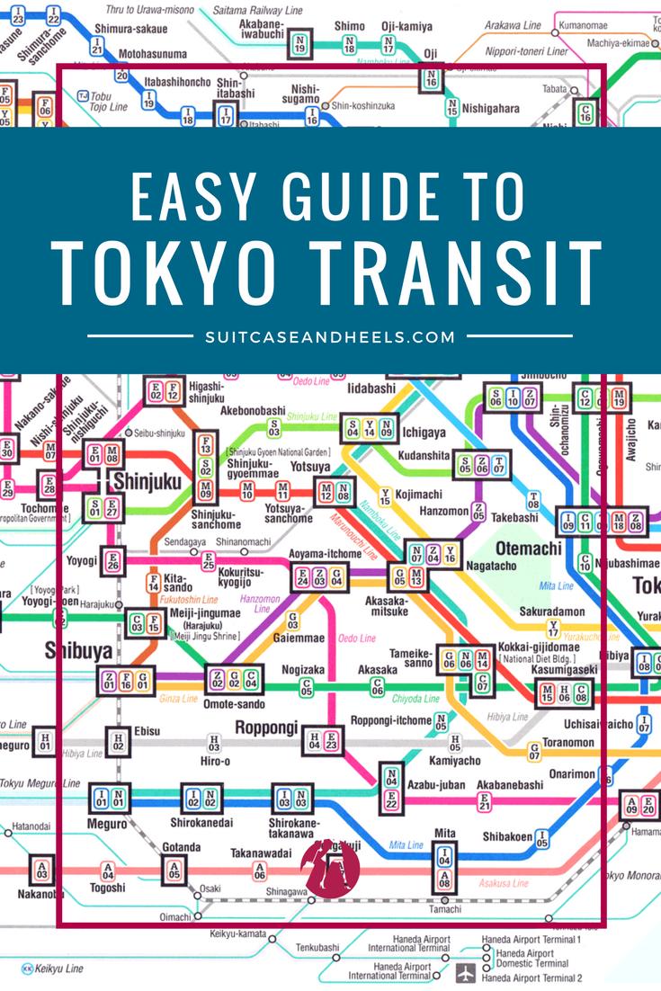 Guide to Tokyo Transit