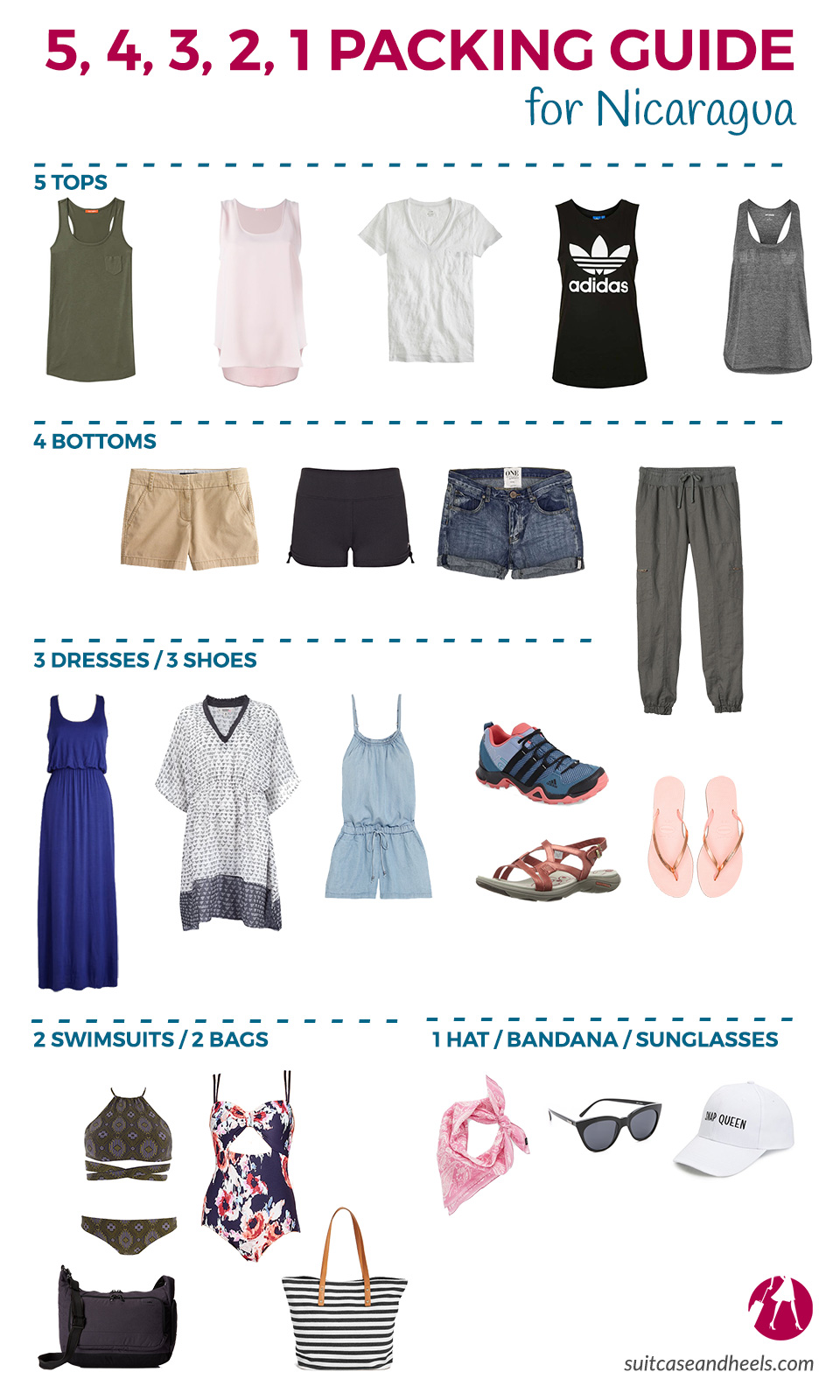 What to Pack for Nicaragua | SuitcaseandHeels.co