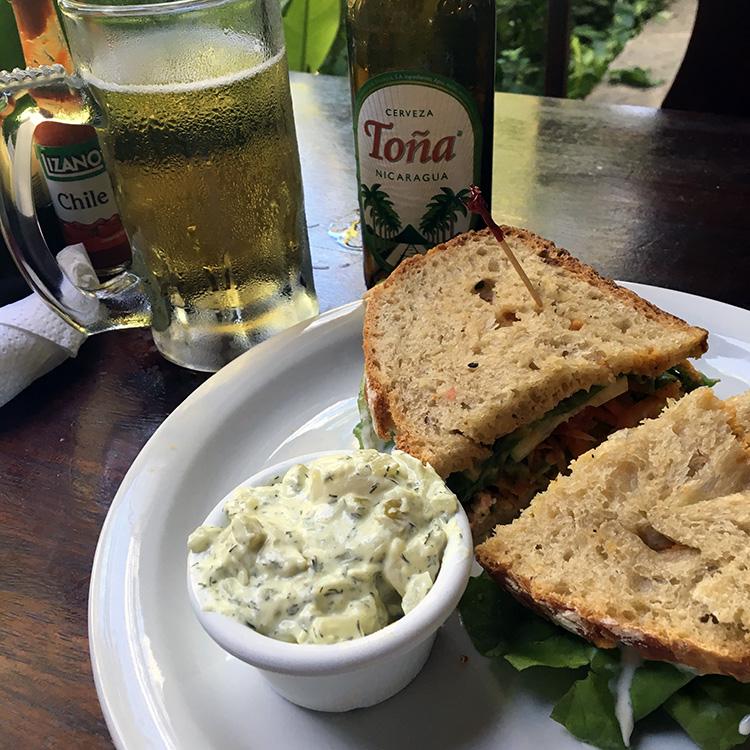 Garden Cafe - Granada, Nicaragua