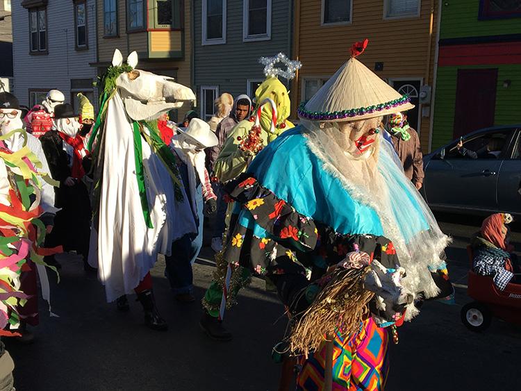 Newfoundland Mummers Parade