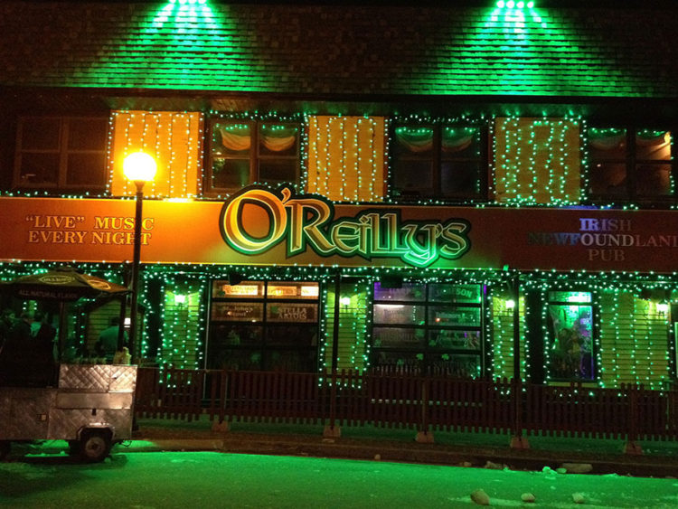 O'Reilly's Pub in St. John's