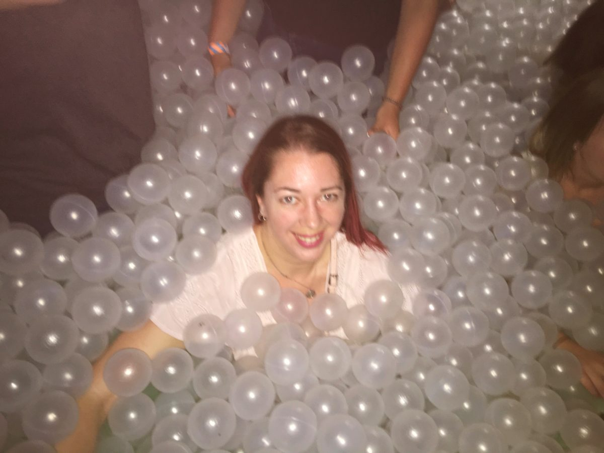 Ballie Ballerson - ball pit bar in London