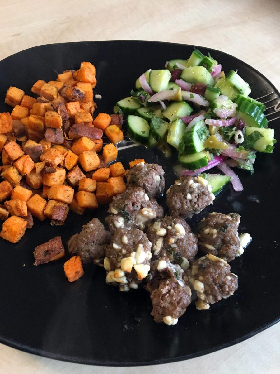HelloFresh Feta-Stuffed Meatballs