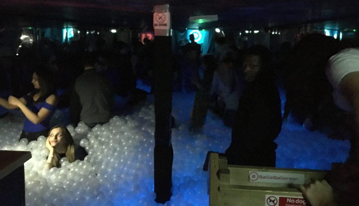 Ballie Ballerson - ball pit bar in London