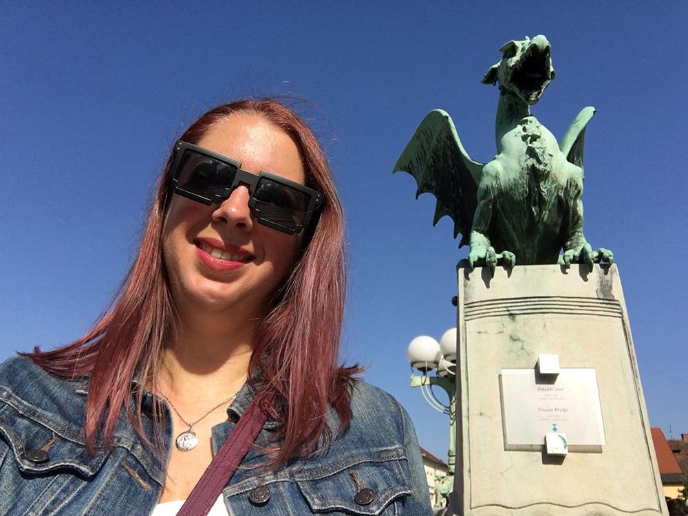 Dragons in Ljubljana