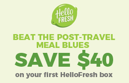 Save $40 on your first HelloFresh box
