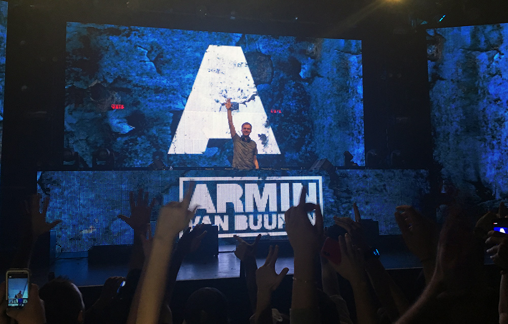 Armin Van Buuren at New City Gas in Montreal