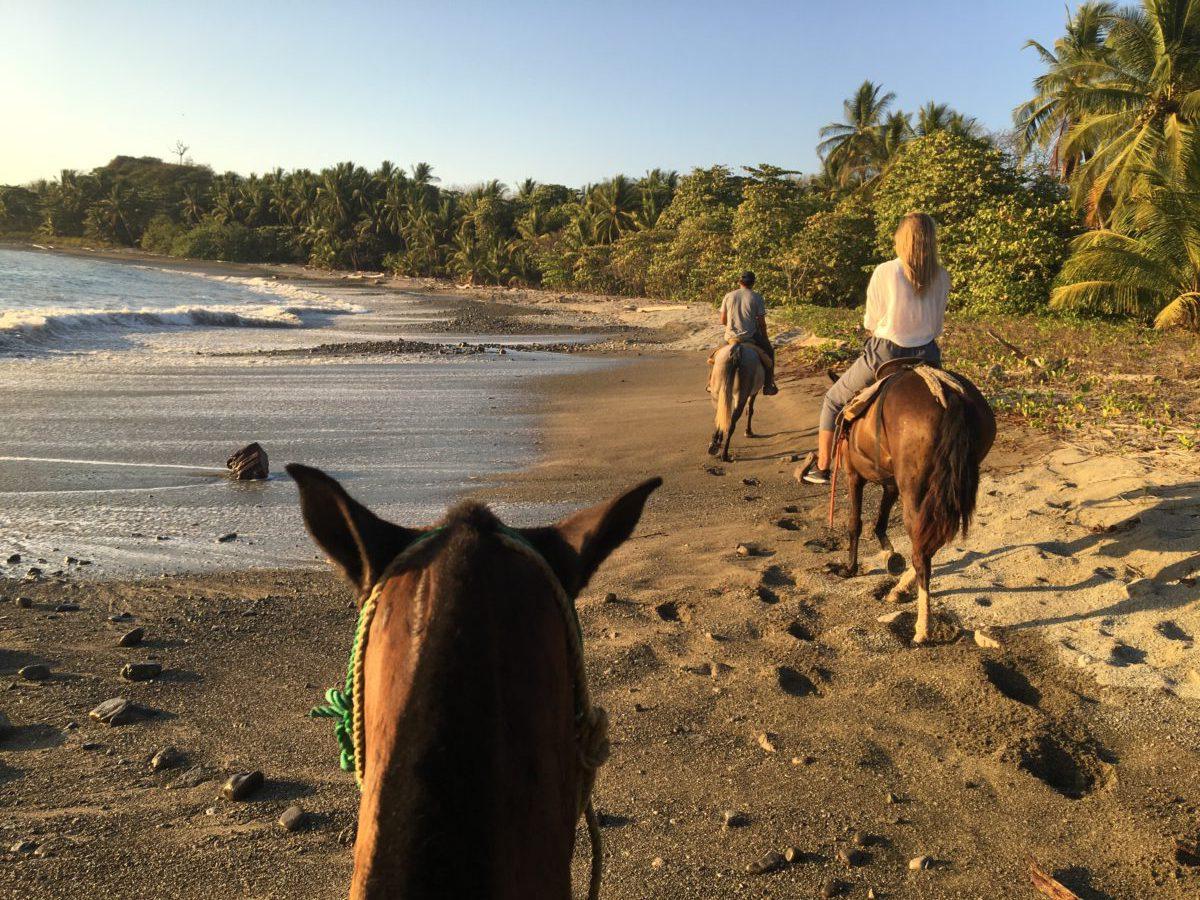 Horseback Riding in Mal Pais