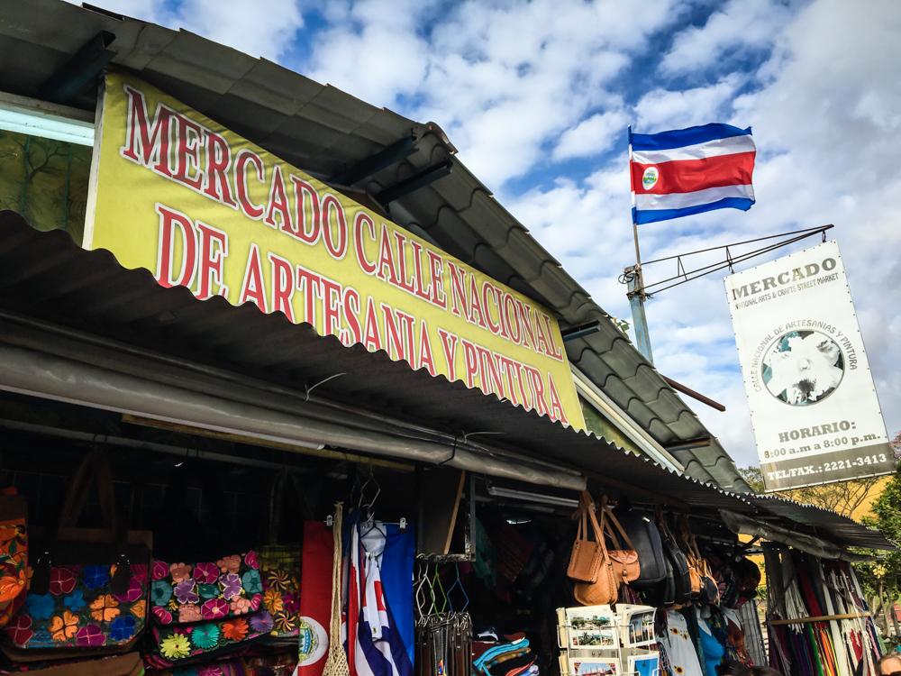 Costa Rica Craft Market in San Jose
