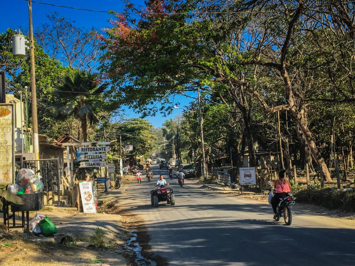 The Road in Santa Teresa