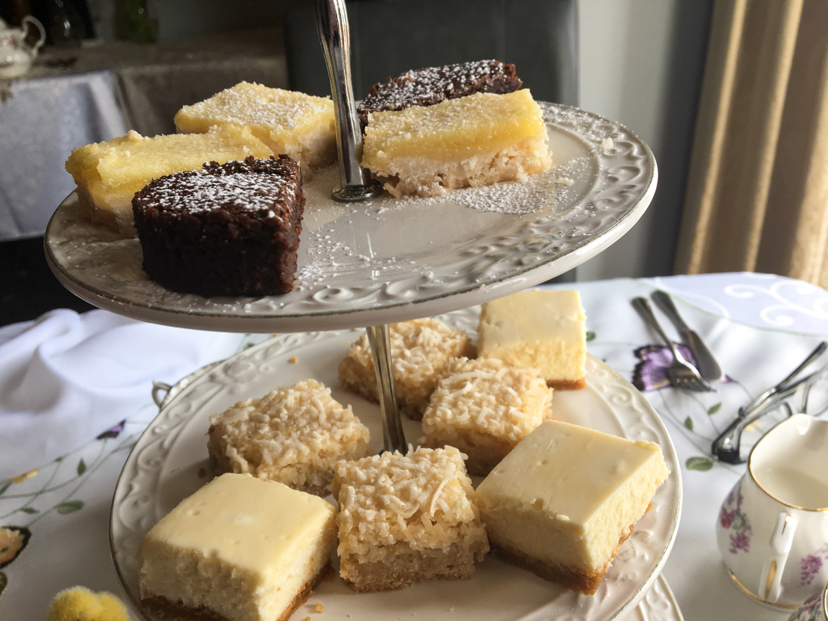 Victorian high tea at the Rose Manor Inn - Harbour Grace