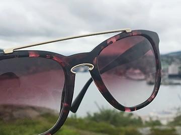 Sunglasses at Signal Hill