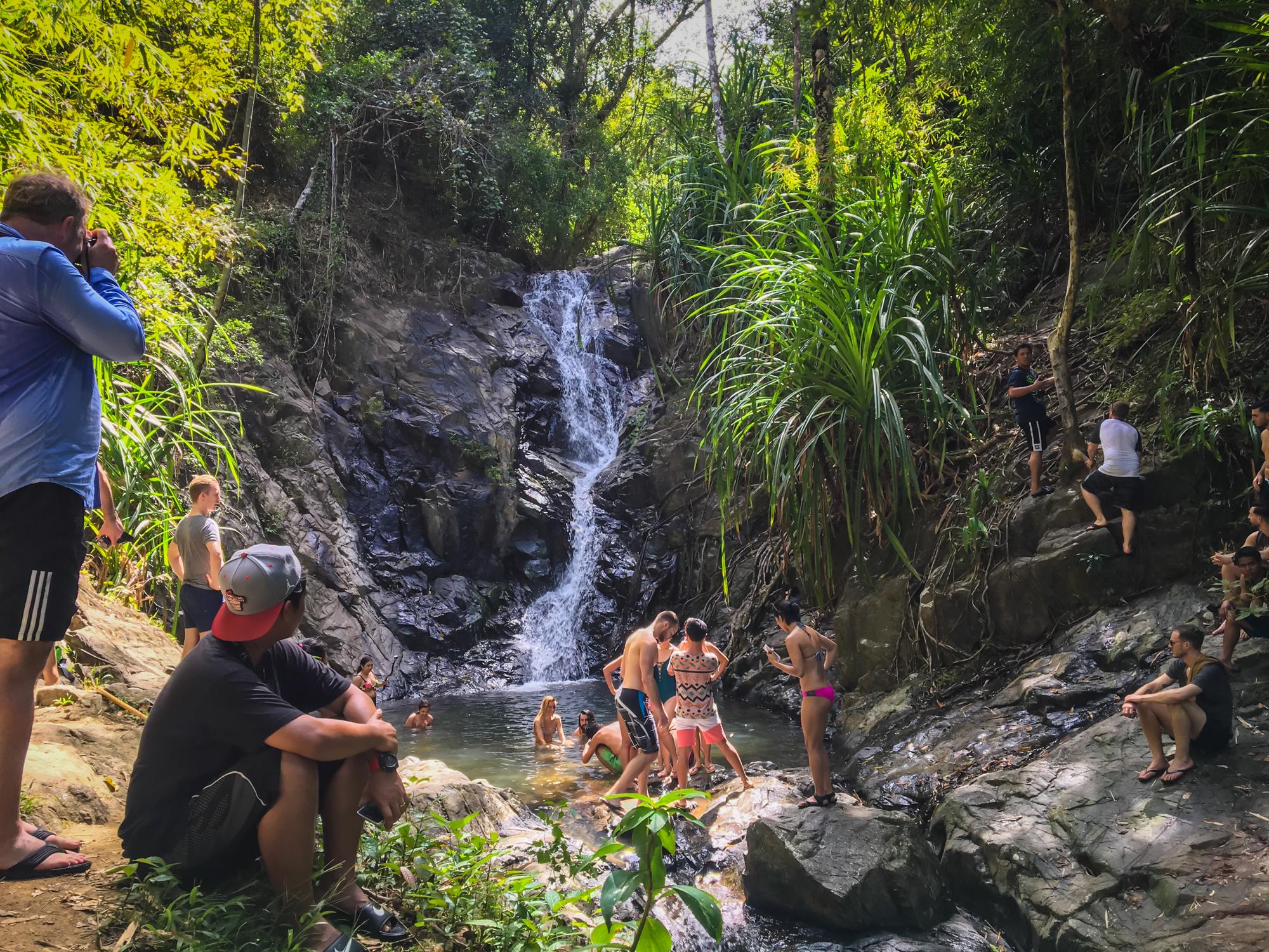 Nagkalit-kalit Waterfall