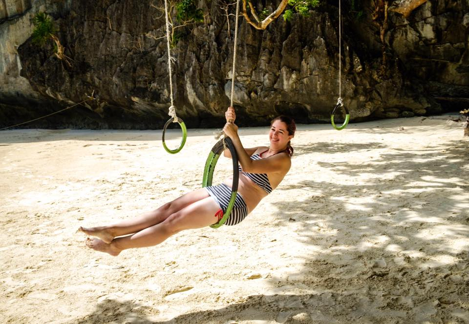 Papaya Beach Tire Swing