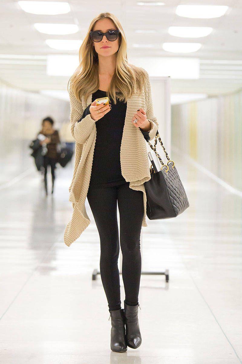Celebrity Airport Style - Kristin Cavallari