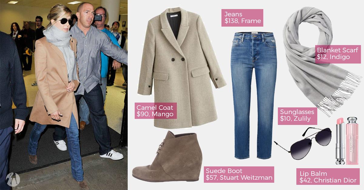 Celebrity Airport Style - Jennifer Aniston