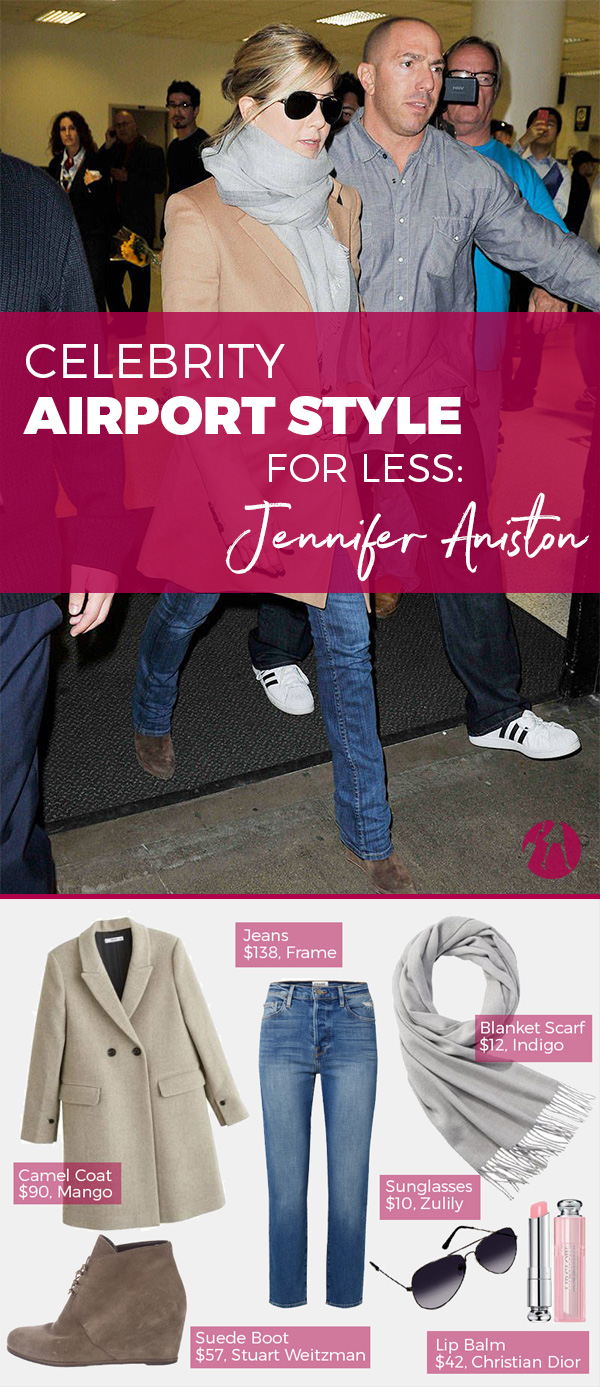 Celebrity Airport Style for Less: Jennifer Aniston