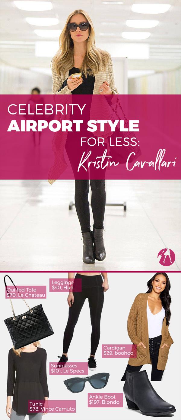 Celebrity Airport Style for Less: Kristin Cavallari
