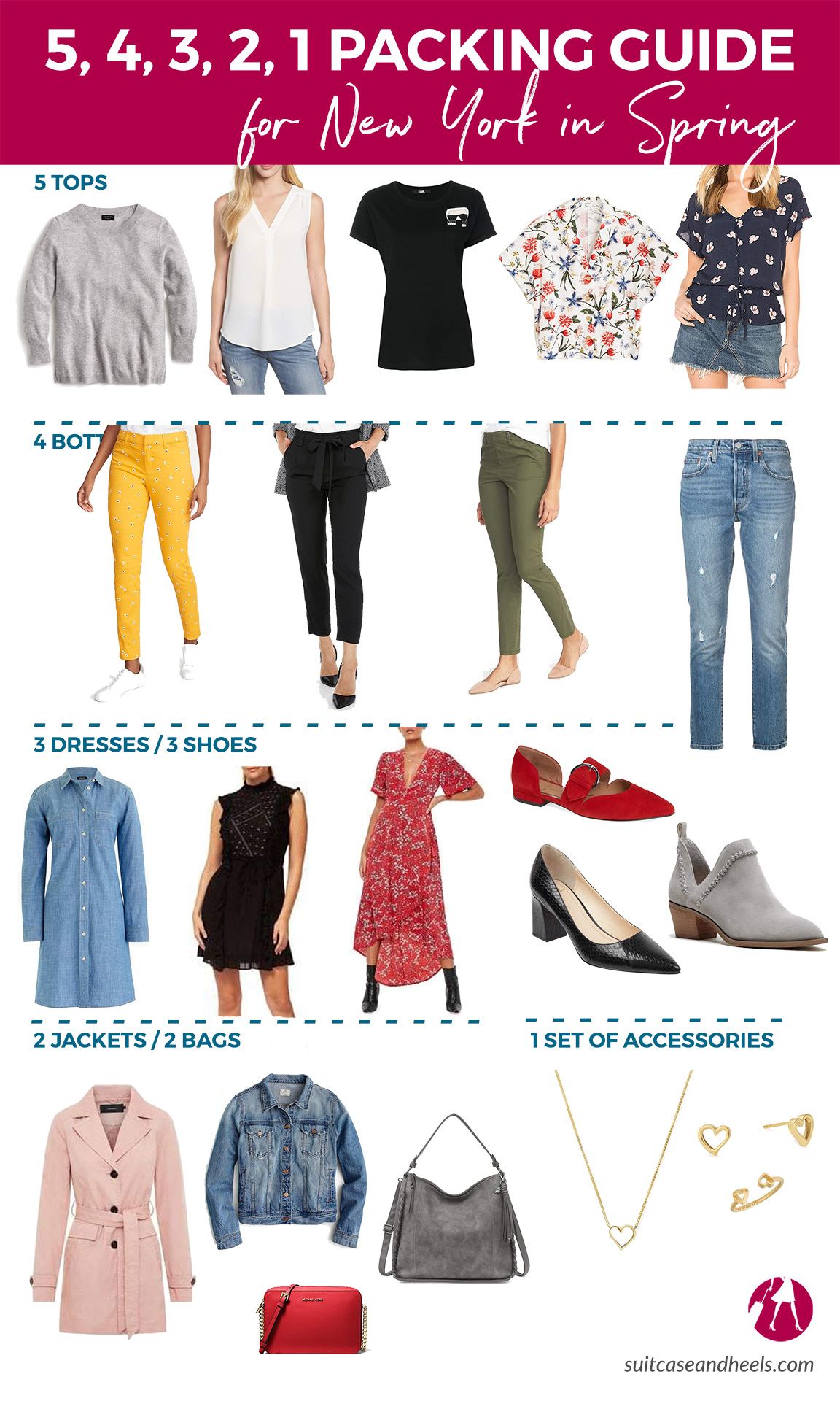 What to Wear in New York in the Spring