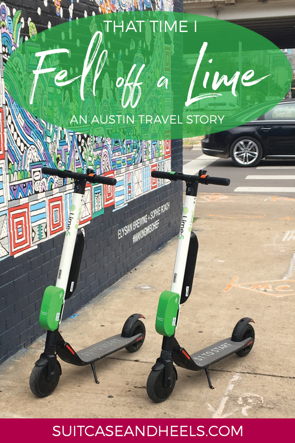 Scooter Fail in Austin